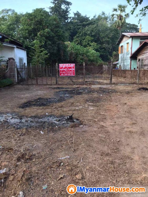 Bank Transfer ဖြင့်ဝယ်ယူနိုင်ပါသည်။ ပဲခူးမြို့ ၊ ရန်ကုန်-မန္တလေးကားလမ်းမကြီးဘေး ( ဂုတ်ကွက် )၊ ကျိုက်ပွန်ဘုရားလမ်းမပေါ် ရှိ၊ နေရာကောင်း စျေးတန် မြေကွက် ရောင်းရန်ရှိသည်။ - ရောင်းရန် - ပဲခူး (Bago) - ပဲခူးတိုင်းဒေသကြီး (Bago Region) - 950 သိန်း (ကျပ်) - S-9274847 | iMyanmarHouse.com