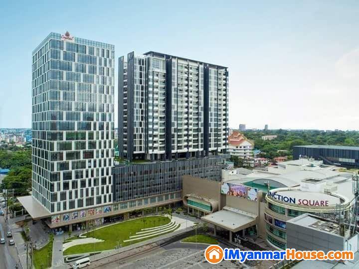 Crystal Residence Units For Sale - ရောင်းရန် - ကမာရွတ် (Kamaryut) - ရန်ကုန်တိုင်းဒေသကြီး (Yangon Region) - 6,800 သိန်း (ကျပ်) - S-9330583 | iMyanmarHouse.com