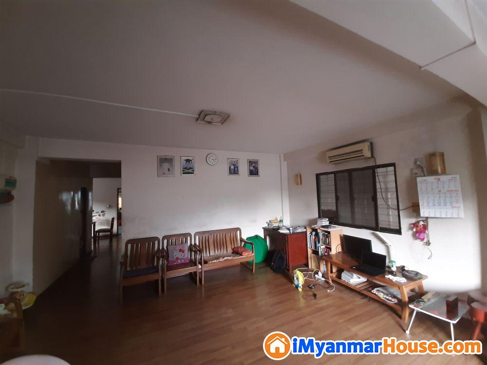 25*50ft Apartment - ရောင်းရန် - ကြည့်မြင်တိုင် (Kyeemyindaing) - ရန်ကုန်တိုင်းဒေသကြီး (Yangon Region) - 1,200 သိန်း (ကျပ်) - S-9330617 | iMyanmarHouse.com