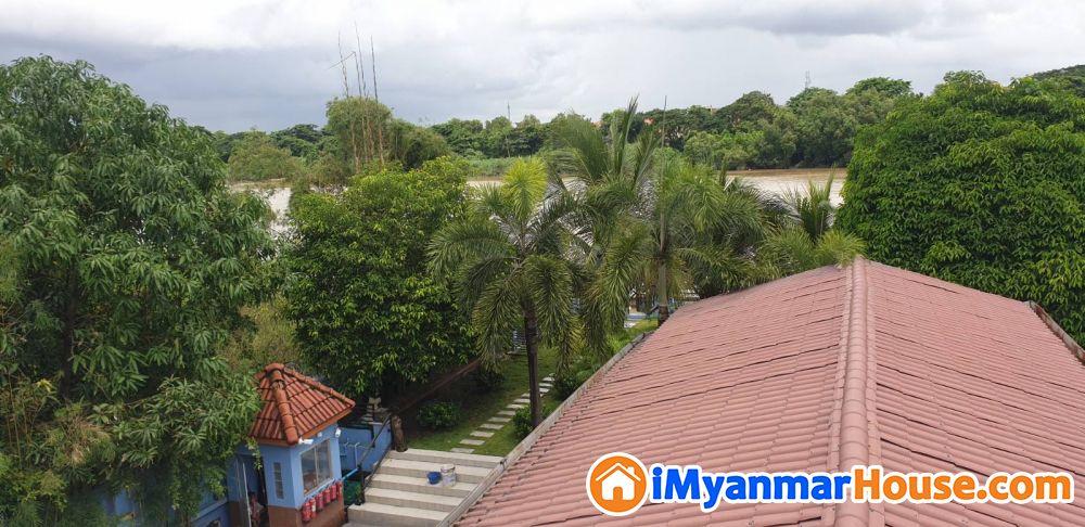 နေ့တိုင်း အပန်းဖြေကမ်းခြေရောက်နေသလိုခံစားရမယ့် River view နဲ့ ခေတ်မှီ၊ကျယ်ဝန်း၊လှပသည့် RC 2 ထပ်ခွဲ လုံးချင်းအိမ်သန့်လေး အမြန်ရောင်းမည် - ရောင်းရန် - သင်္ဃန်းကျွန်း (Thingangyun) - ရန်ကုန်တိုင်းဒေသကြီး (Yangon Region) - 8,500 သိန်း (ကျပ်) - S-9392821 | iMyanmarHouse.com