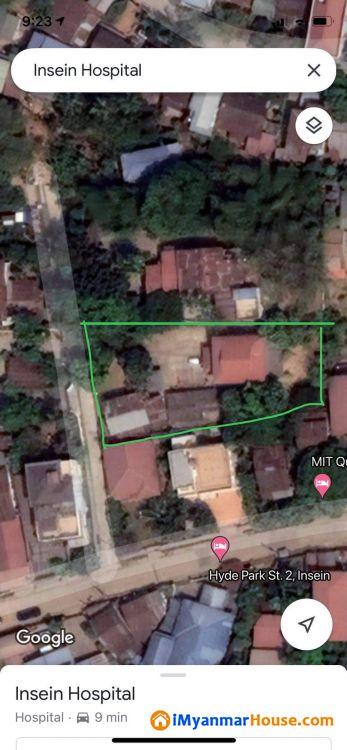 အင်းစိန်(ခြံနှင့်အိမ်) - ရောင်းရန် - အင်းစိန် (Insein) - ရန်ကုန်တိုင်းဒေသကြီး (Yangon Region) - 7,950 သိန်း (ကျပ်) - S-9393584 | iMyanmarHouse.com