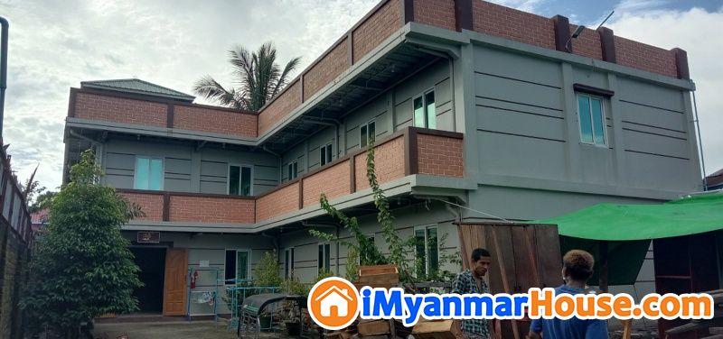 လက္႐ွိလစဥ္ဝင္ေငြရေနေသာအေဆာင္/ဆိုင္ခန္းေရာင္းမည္။ - ရောင်းရန် - မင်္ဂလာဒုံ (Mingaladon) - ရန်ကုန်တိုင်းဒေသကြီး (Yangon Region) - 4,500 သိန်း (ကျပ်) - S-9401599   iMyanmarHouse.com