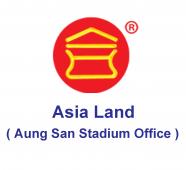 အာရှမြေ (Asia Land) အိမ်၊ခြံ၊မြေ၊ အကျိုးဆောင်ကုမ္ပဏီ 09-5041674, 01-394157 01-394160 01-394415